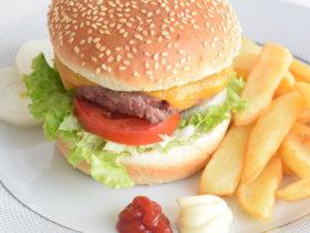 Receita fácil de hambúrguer com queijo