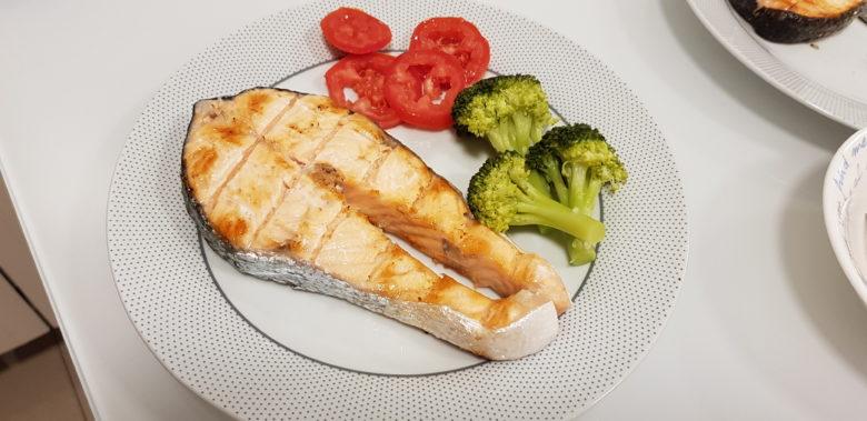 Receita fácil de salmão grelhado