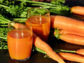 receita de sumo de cenoura