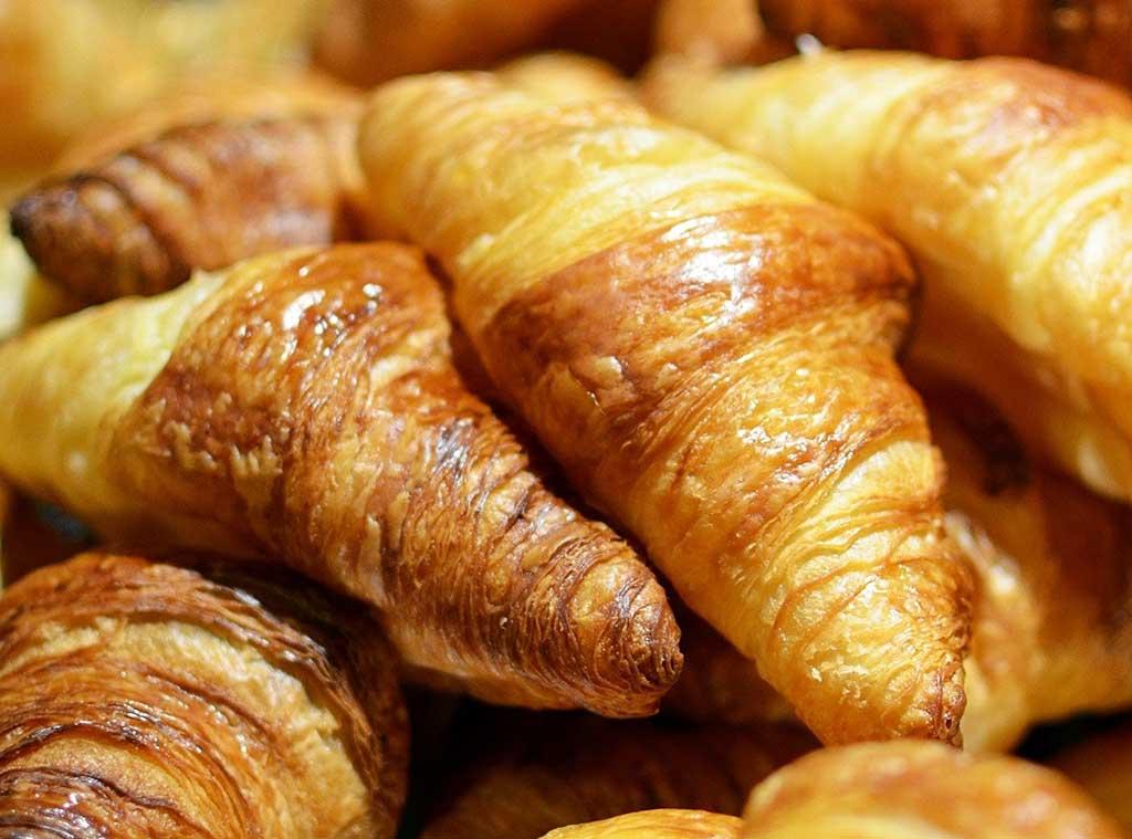 receita facil de croissant